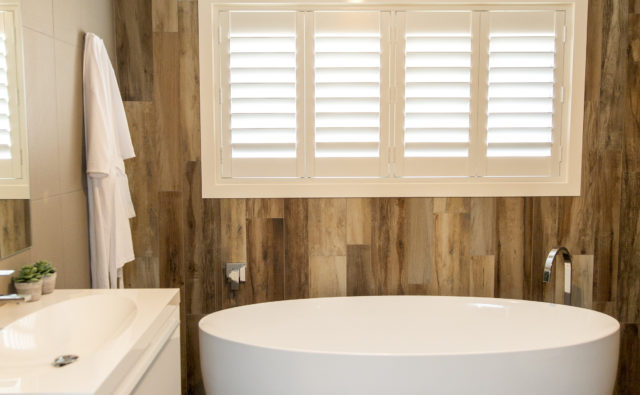 Home building solutions - Modern bathroom construction