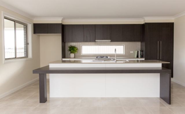 Home building solutions - Modern kitchen construction